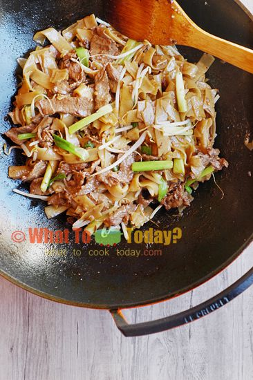 how to cook rice vermicelli noodles stir fry