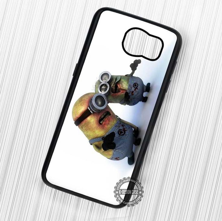 Zombie Minions Despicable Me - Samsung Galaxy S7 S6 S5 Note 7 Cases & Covers
