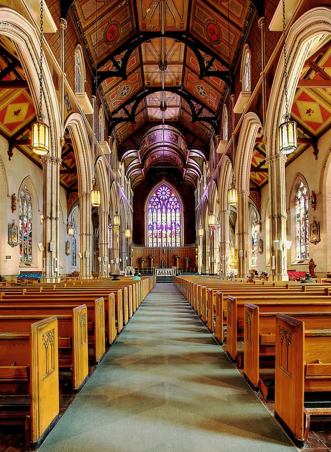 Toronto, St. Michael's Church, Catholic Cathedral.