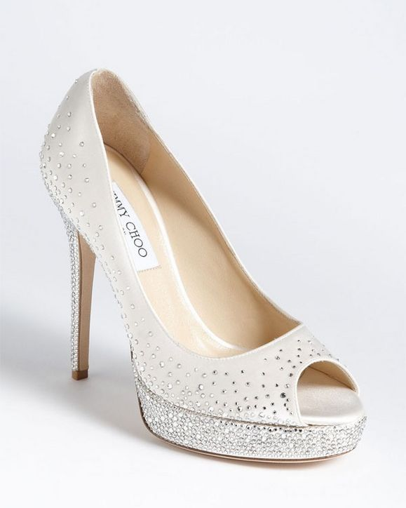 5 Pairs of Over-the-Top Wedding Shoes! Which Would You Wear? (If You're Going to Splurge on Wedding Shoes, Jimmy Choo Has You Covered!)