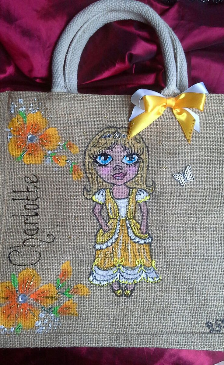 Hand painted Personalised jute bags, hand painted jute bags, tote bag handpainted jute bags. Custom painted jute bag. Hand painted tote bag. by Aligri on Etsy