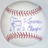 "Jerry Koosman ""69 WS Champs"" Autographed Baseball"