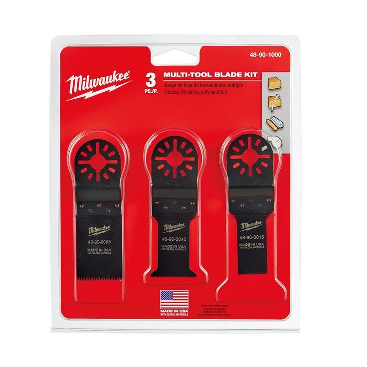 48-90-1000 Milwaukee Multi-Tool Blade Kit