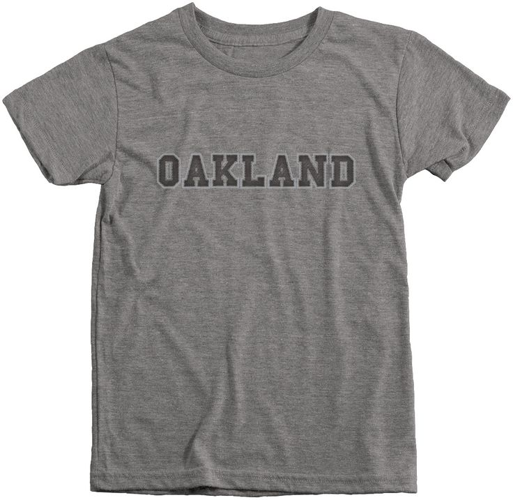 Oakland Football Club Boys Tri-Blend T-Shirt