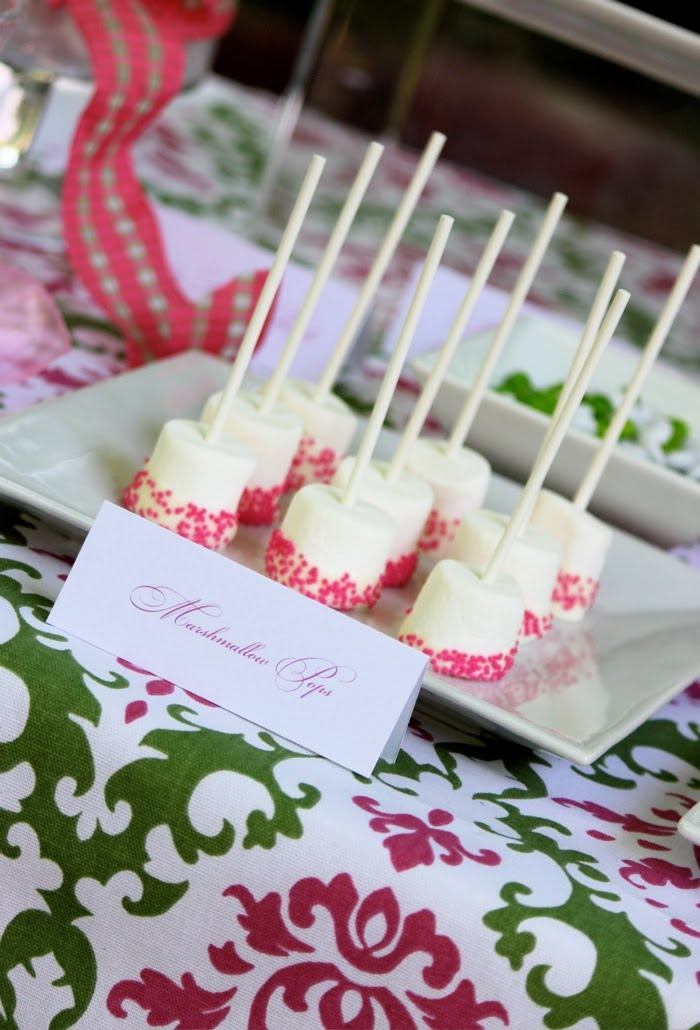 bow themed bridal shower dessert table dreamers into doers marthastewartcom