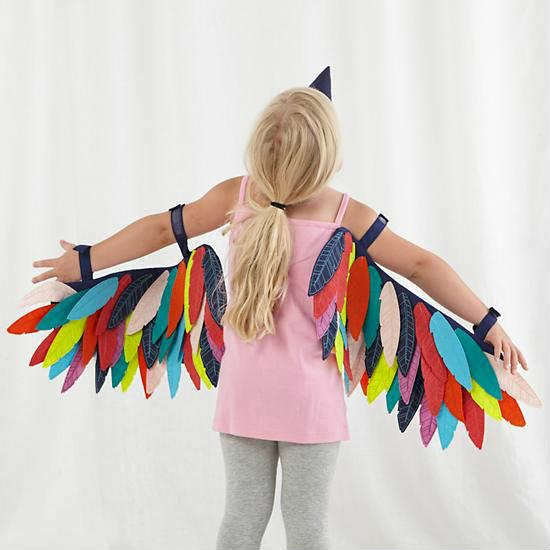 Wild wings dress up set | 10 DIY Kids Costumes - Tinyme Blog