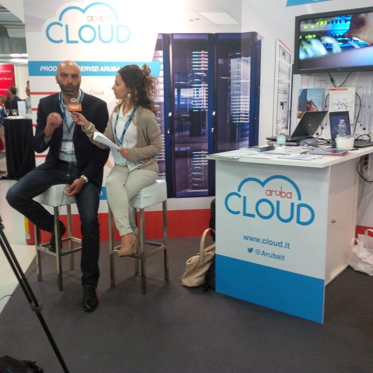 vForum Milano: intervista al nostro Direttore Marketing allo stand di Aruba Cloud