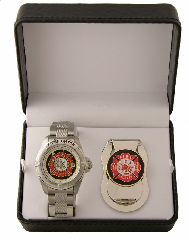 Firefighter Watches and Gift Sets