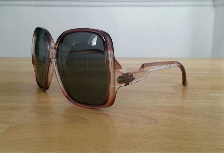 True Vintage Oversized Womens Sunglasses disco hippie 60s 70s mod Boho