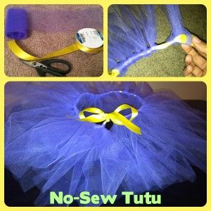 Make your own no-sew tutus! I am making one for myself!!