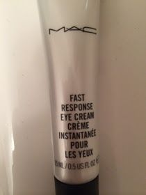 Everything Beauty : Mac Fast Response Eye Cream