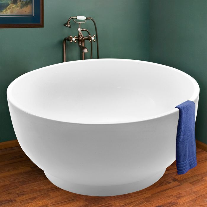 acrylic japanese soaking tub. 51  Matteo Circular Soaking Freestanding Acrylic Tub Code 109026 96 best Luxuria Hardware Bathtubs images on Pinterest