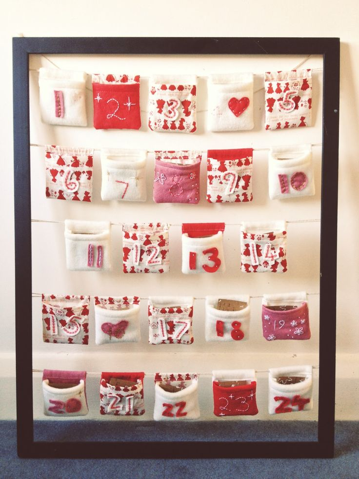 Diy Sewing Advent Calendar : Best images about advent calendars on pinterest