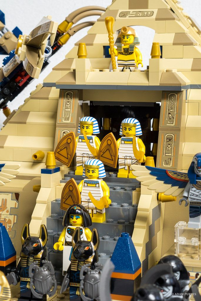 Egyptian Party : lego decor idea : Brick Loft - LEGO Egypt (Pharaoh's Quest)