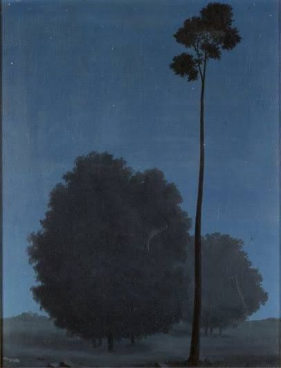 René Magritte, Les grandes espérances, 1940. Oil on canvas, 63 x 50 cm