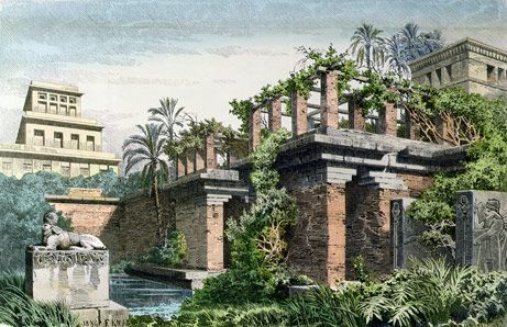 The Hanging Gardens of Babylon - one of the Wonders of the Ancient World.... under threat  - perhaps