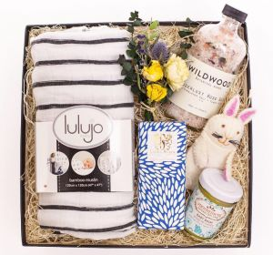 Anointment's Best-selling and award-winning Baby Balm is featured on the Marilyn Denis show in Toronto as part of the New Mom & Baby Gift Set prepared by our retail partner, Present Day Gifts.