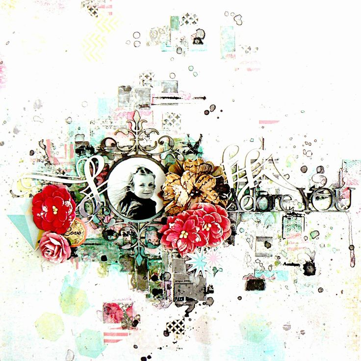 """2 Crafty Chipboard : """"ADORE YOU""""By Stephanie Papin"""