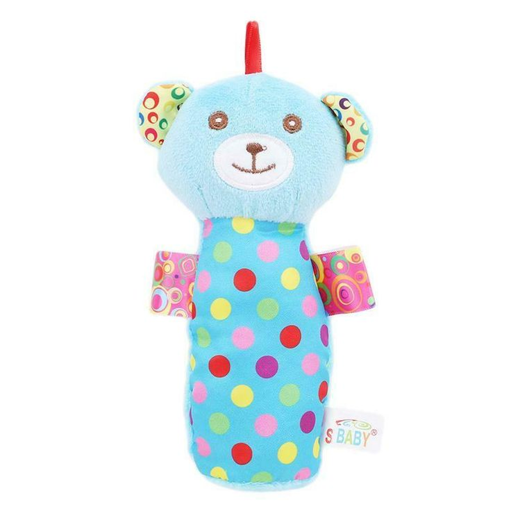 Cute Early Education Toys Baby Toys 3-24 Month Rabbit Rattle Rattle Music
