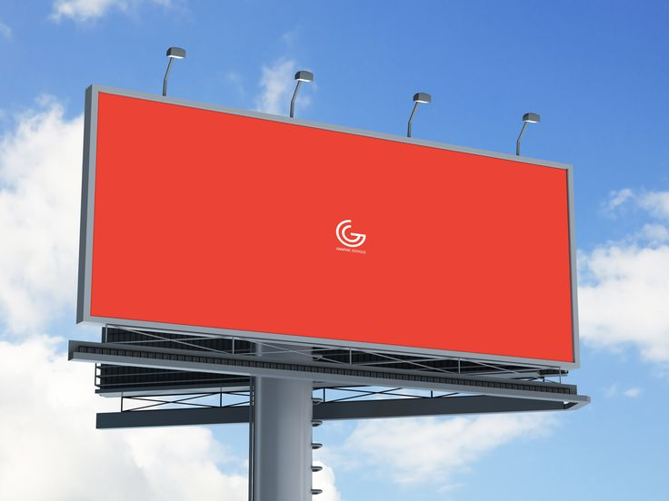 Free Outdoor Billboard Hoarding Mock Up For Advertisement 7 94 Mb Graphic Google Free Photos Outdoor Advertising Billboard Mockup Billboard Advertising