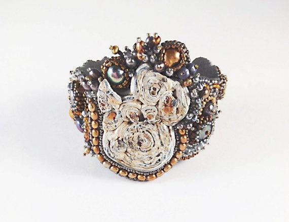 MPKyros Jewelry Cuff by MPKyros on Etsy, $195.00