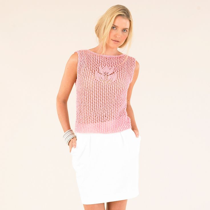 The divine Lily in Pink - from the third Sublime Egyptian cotton dk book