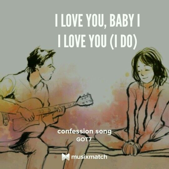 Confession song by GOT7
