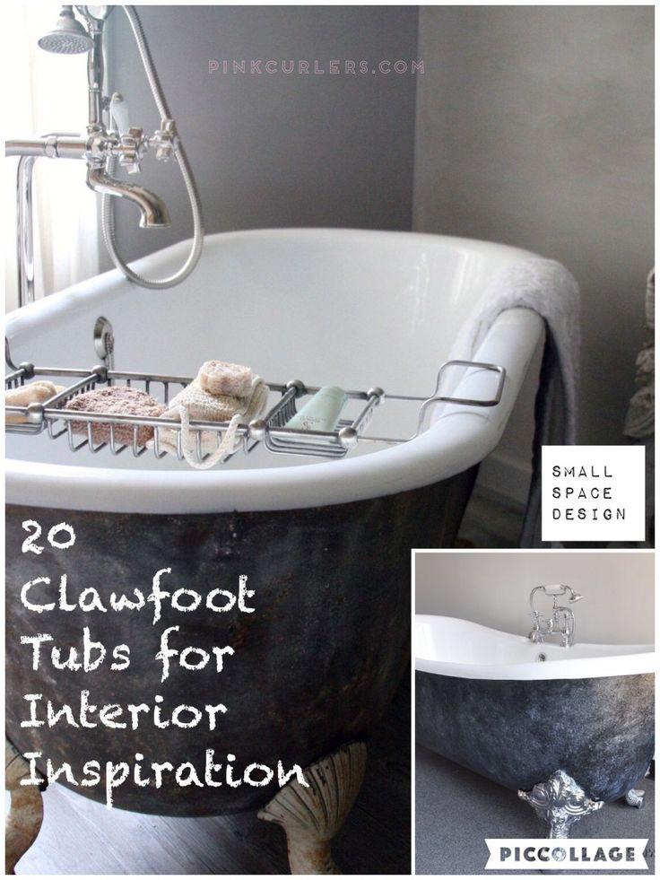 1000 ideas about clawfoot tub bathroom on pinterest for Bathroom ideas with clawfoot bathtub