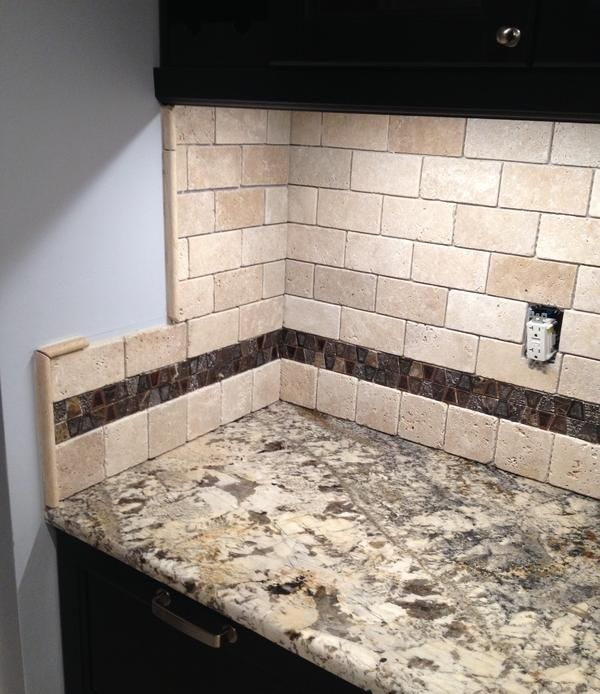 travertine kitchen backsplash ideas best 25 travertine backsplash ideas on brick 6355
