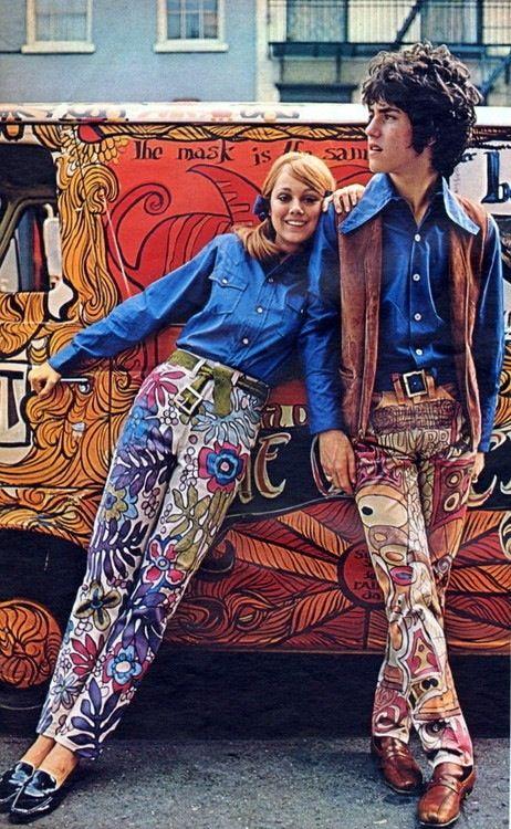 "sixtiescircus: ""Hippie Fashion """