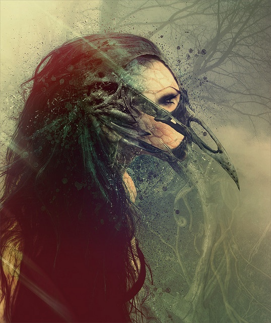 Raven queen by ultradialectics amsterdam, via Flickr