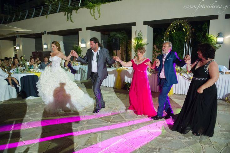 Lively couple & lovely wedding photos at Ionian Blue Spa Resort #Lefkas #Ionian #Greece #wedding #weddingdestination Eikona Lefkada Stavraka Kritikos