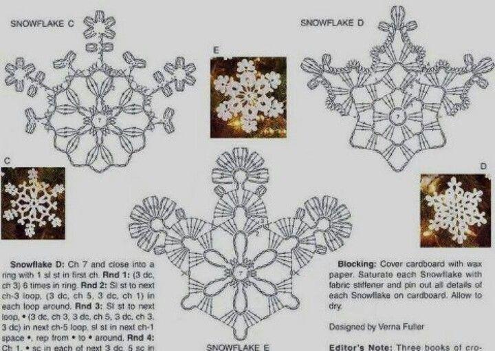 34 mejores imágenes de Copos de nieve en Pinterest | Copos de nieve ...
