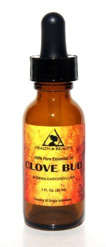 Clove Bud Essential Oil Organic Aromatherapy Therapeutic Grade 100 Pure Natural 1 oz 30 ml with Glass Dropper ** Want to know more, click on the image.