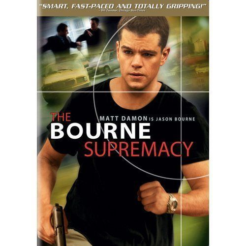 The Bourne Supremacy (Widescreen Edition) Matt Damon Jason Bourne Series