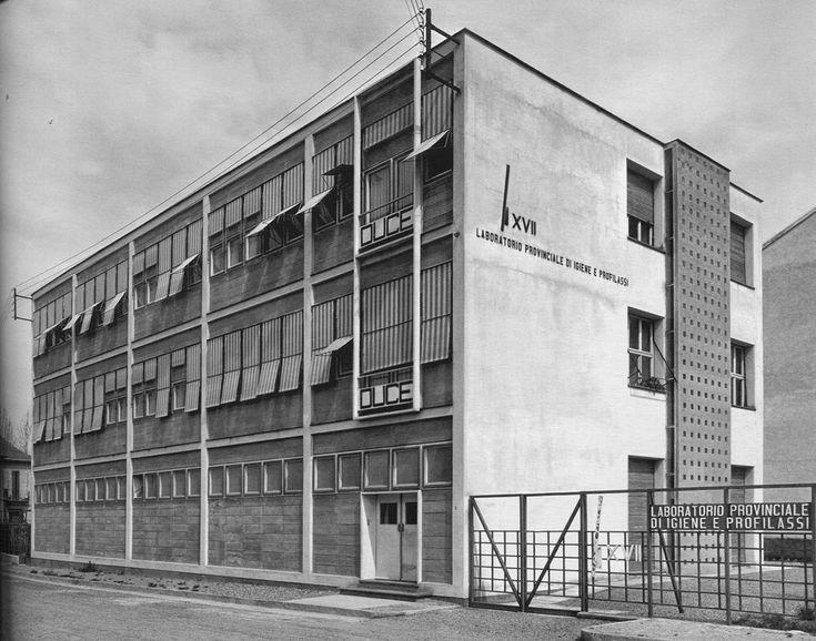 IT, Alessandria, Laboratorio provinciale di igiene e profilassi. Architect Ignazio Gardella, 1939.