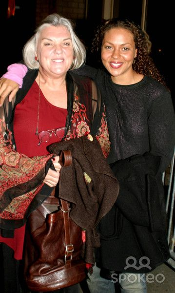 Tyne Daly Daughters | Tyne Daly and Daughter Cbs Celebrities Arriving at the Rihga Royal ...
