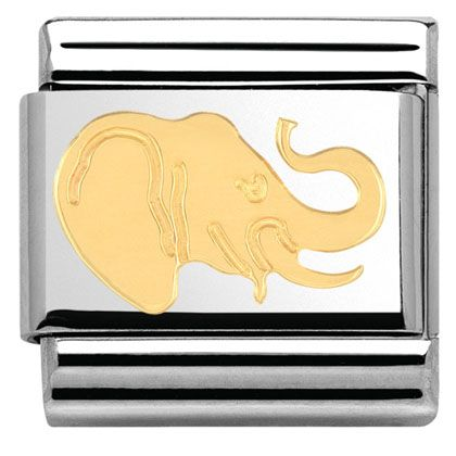 COMPOSABLE Classic AFRICA ANIMALS in stainless steel with enamel and 18k gold