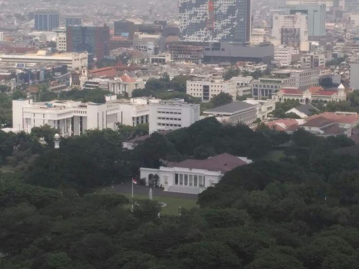 Istana Merdeka or Merdeka Palace in Jakarta, 2016.