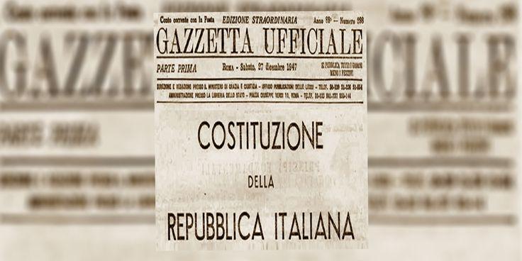 22 Dicembre 2017: Settantanni di Costituzione Italiana.
