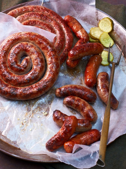 17 best images about pork and sausage on pinterest for How to cook cumberland sausage ring