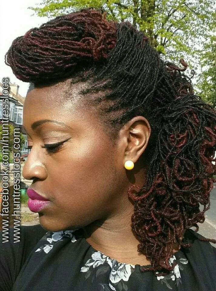 Sisterlocks Hairstyles 287 Best Favorite Sisterlock Styles Images On Pinterest  Black