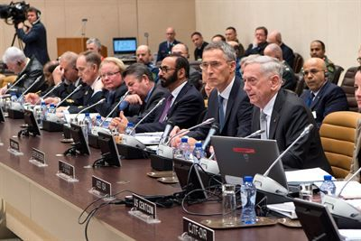Dedication to Defeating ISIS Evident By Progress, Mattis Says