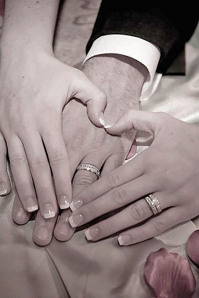 24 Most Pinned Heart Wedding Photos ❤ See more: http://www.weddingforward.com/heart-wedding-photos/ #weddings #photography