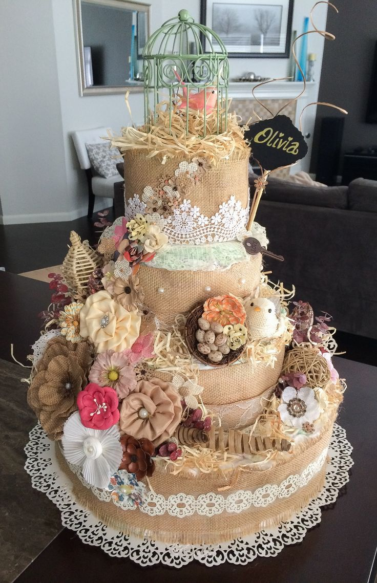 25  best ideas about vintage diaper cake on pinterest