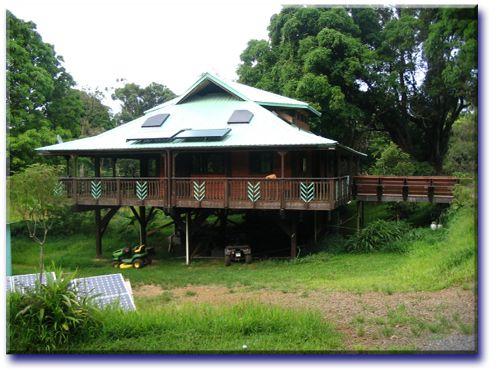 Randle tropical homes pole house plans home plans pole for Tropical kit homes
