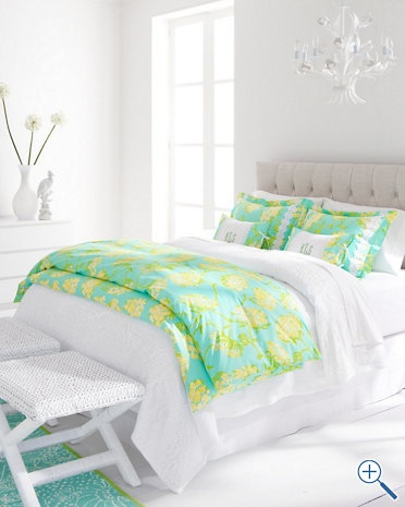 Lilly Pulitzer bedding!!