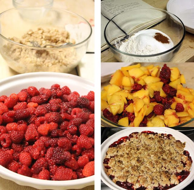 The No Pressure Cooker: Peach Raspberry Crisp