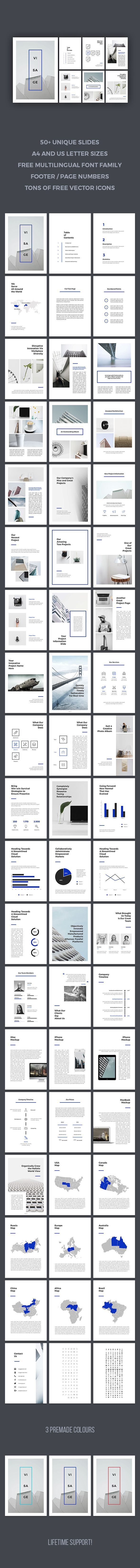 Visage PowerPoint Template