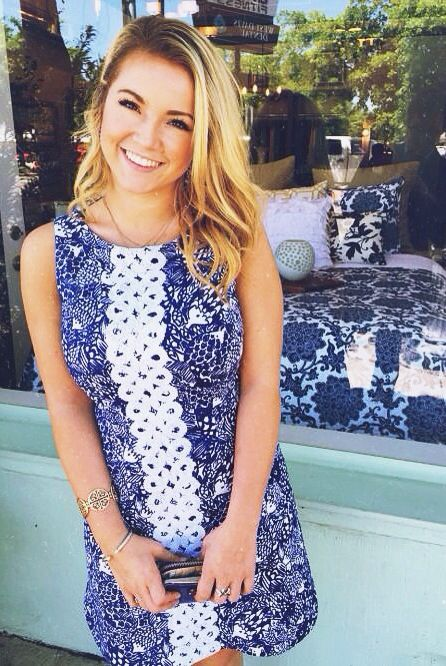 Own this dress. I had to buy a slip extender but it's worth it! The print is so adorable -es